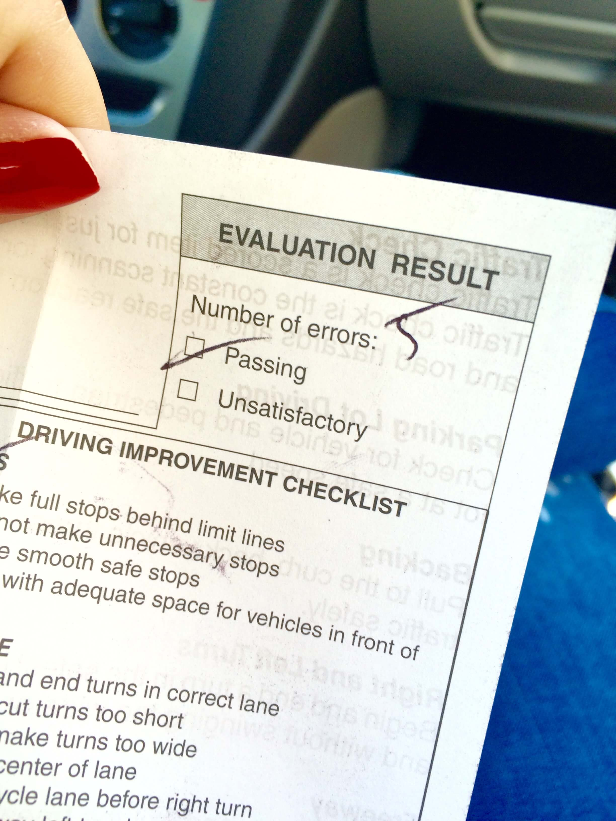Passer son permis de conduire en californie for Combien de temps pour avoir le permis